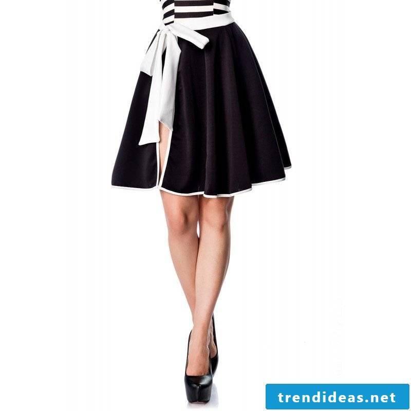 classic wrap skirt