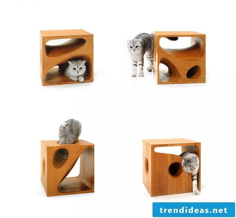 Cat furniture wood