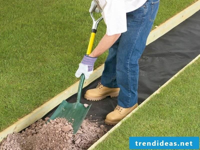 Create gravel garden - instructions step 4