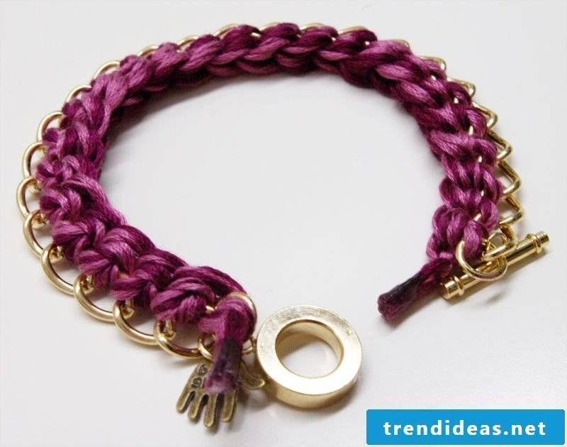 bracelets knot fancy
