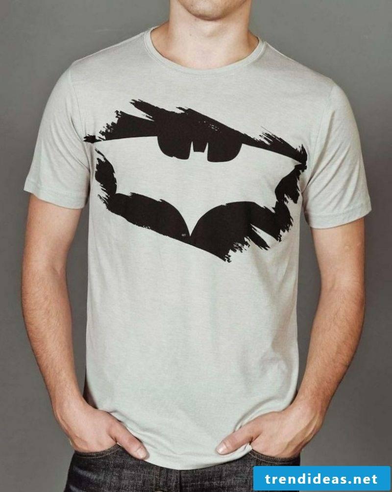 interesting T-shirt with Batman