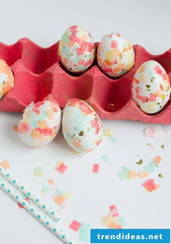 Technique # 10 for Easter eggs without color dyeing - learn more here!