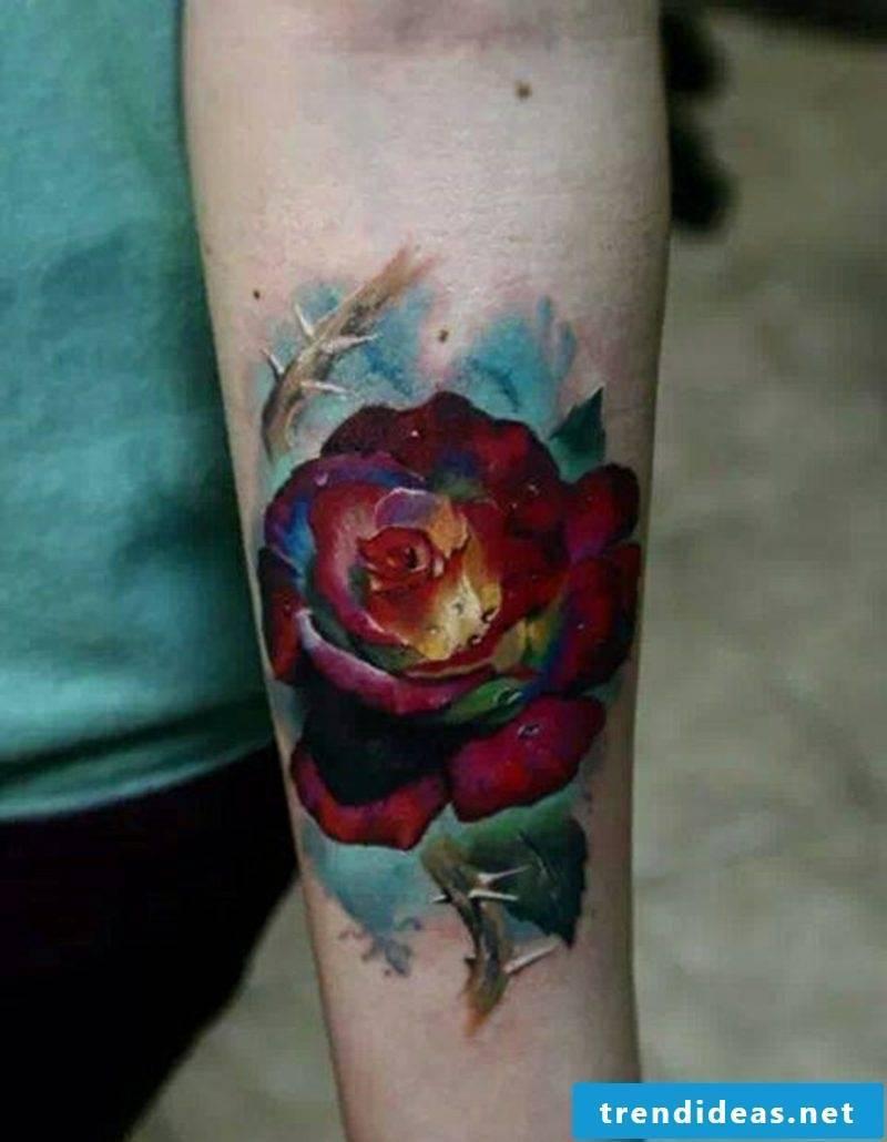 Simple design, consisting of roses
