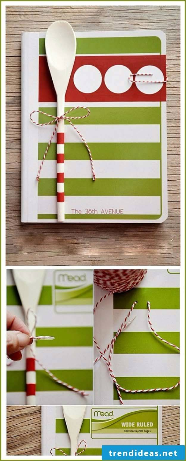 To properly decorate a cookbook and many more Christmas gifts for parents