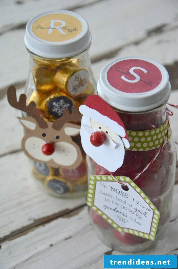 Give Colle ideas for home-made gifts to your parents