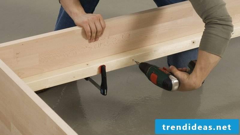 diy bed wood