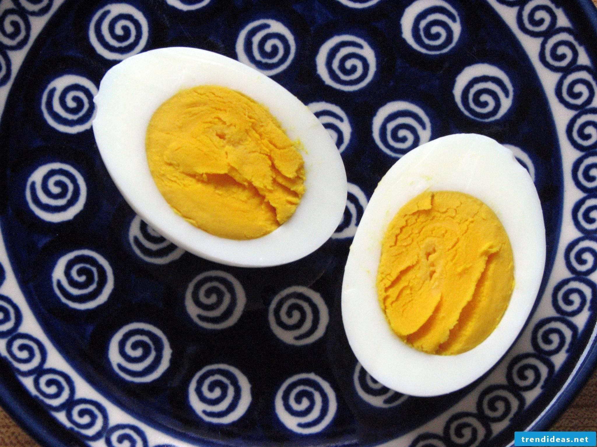 How do I make hard-boiled eggs?
