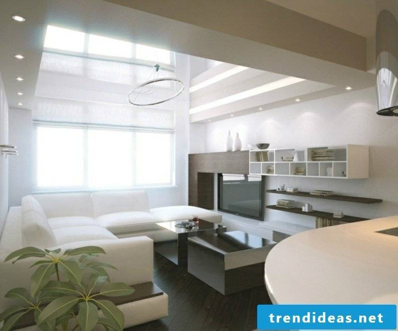 bright and modern living room
