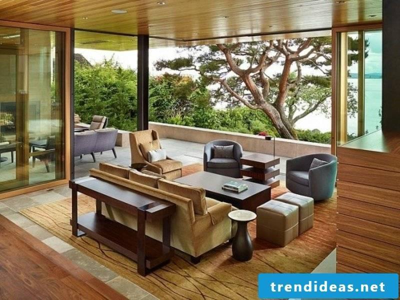 natural colors living room design