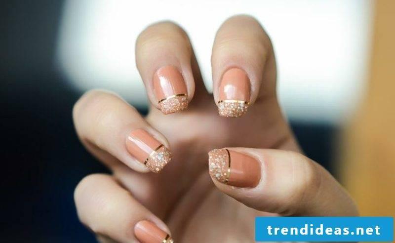 Fingernails design creative DIY ideas decorative stripes