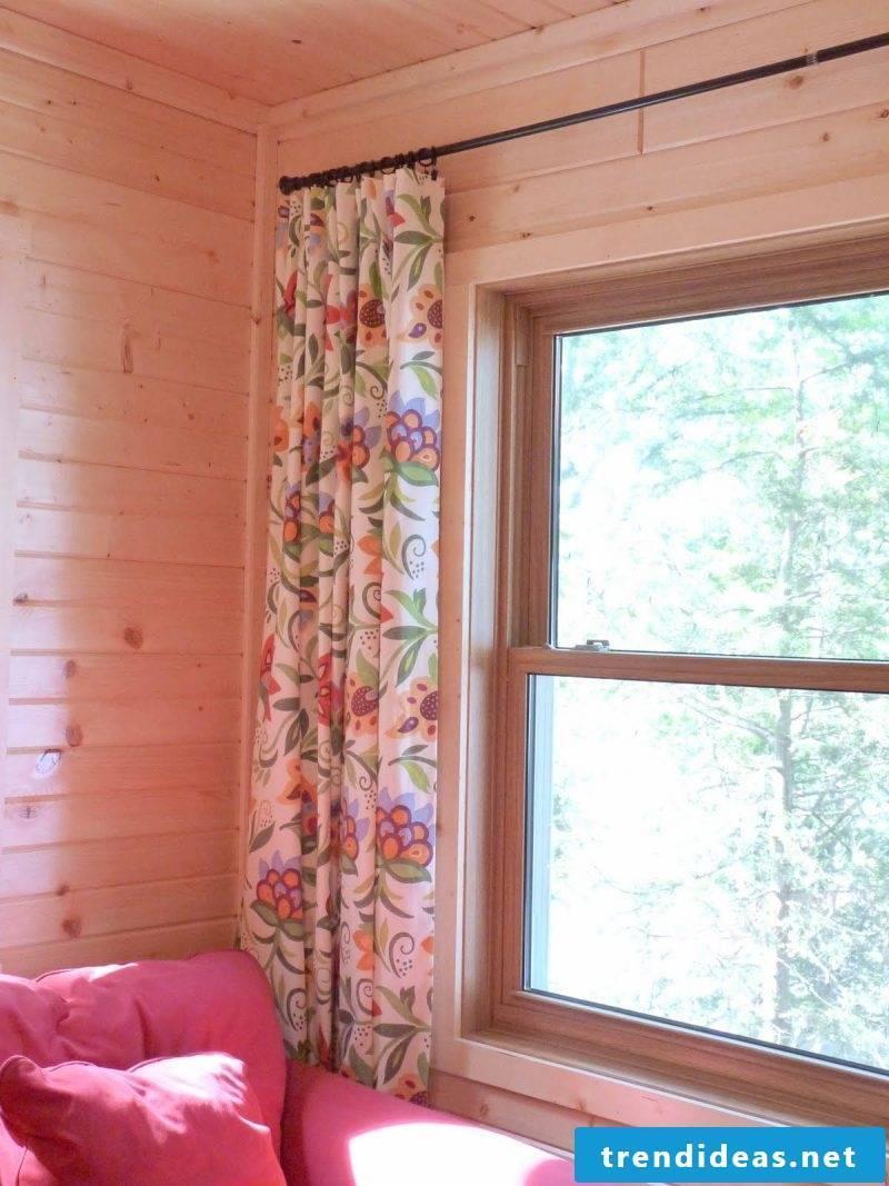 Curtain sew DIY