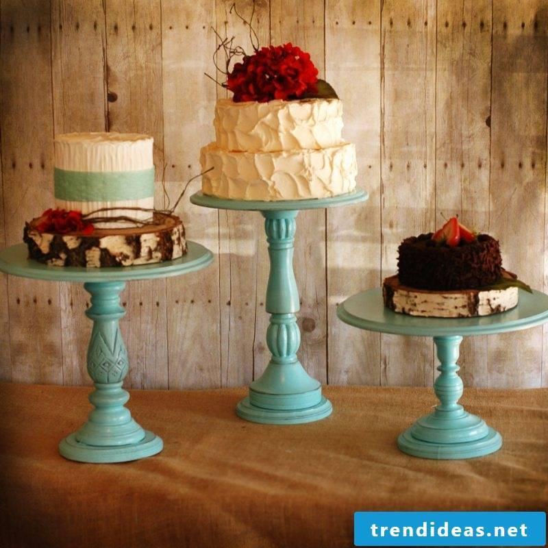 Cake rack blue