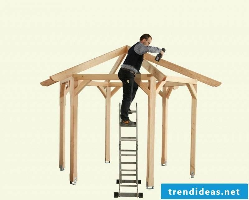gazebo itself build step by step