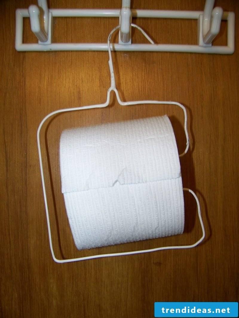 hanger toilet paper holder