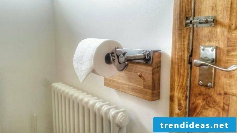 tool toilet paper holder