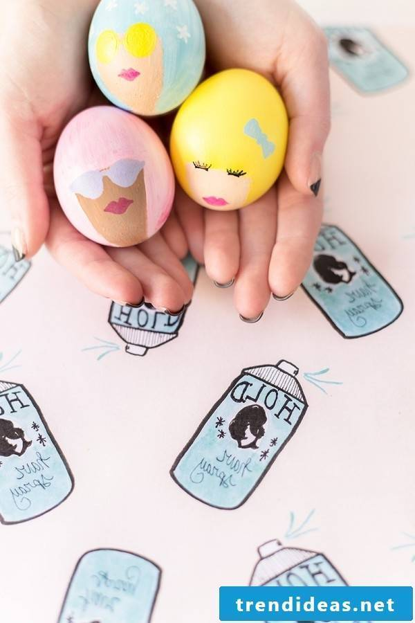 Gather great inspirations and give your Easter eggs an individual touch!
