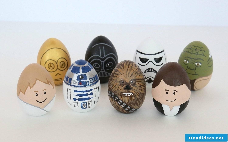 Star Wars Inspirations for Easter Eggs
