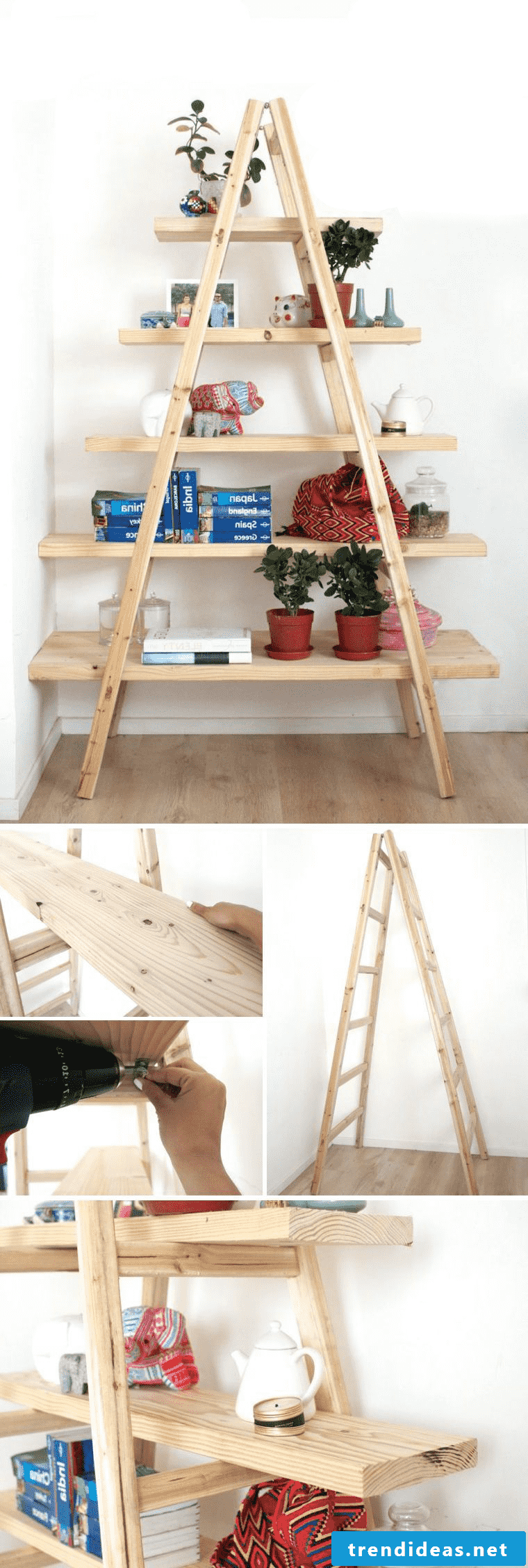 Detailed instructions for a hallway decoration