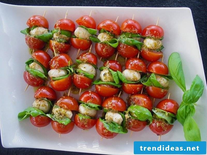 fingerfood cold tomatoes