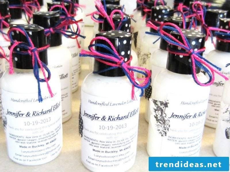 Give Aways Wedding DIY Lavender