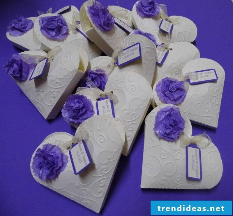 Give Aways Wedding DIY