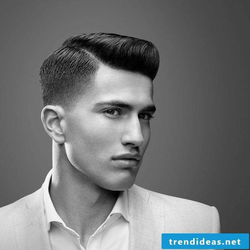 Men's Short Hairstyles Wet Style