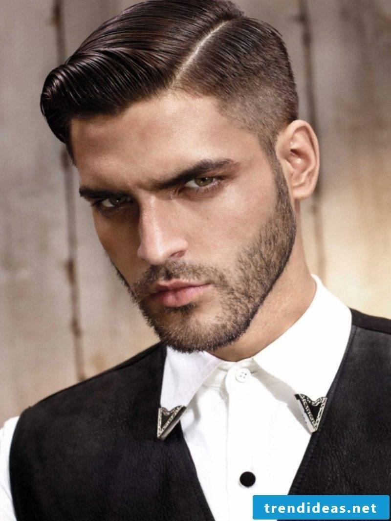 Men's short hairstyles side vertex