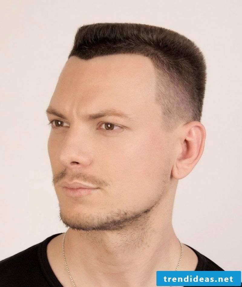 Men's short hairstyles design