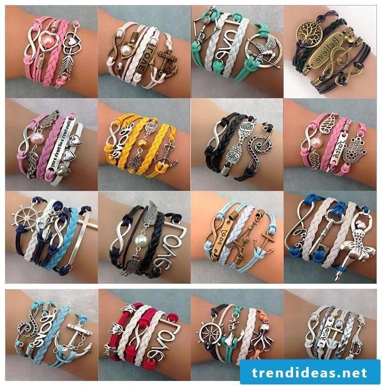 bracelets make different