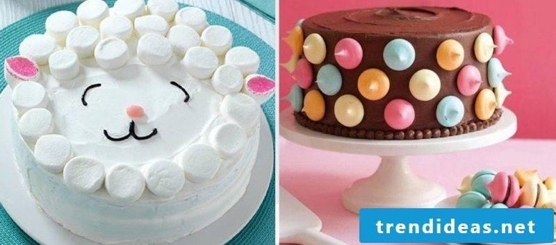 Fancy cake decoration ideas