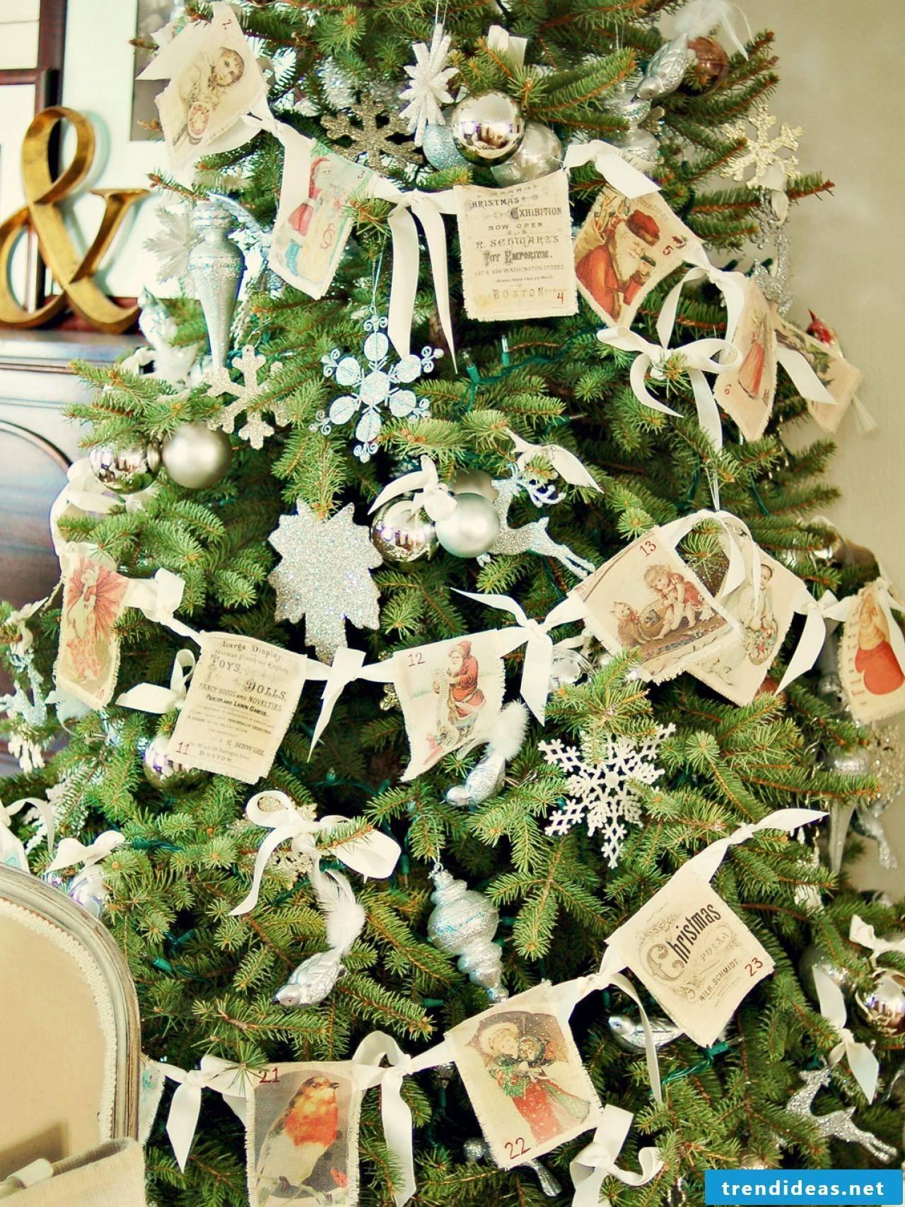 Christmas motives for printing