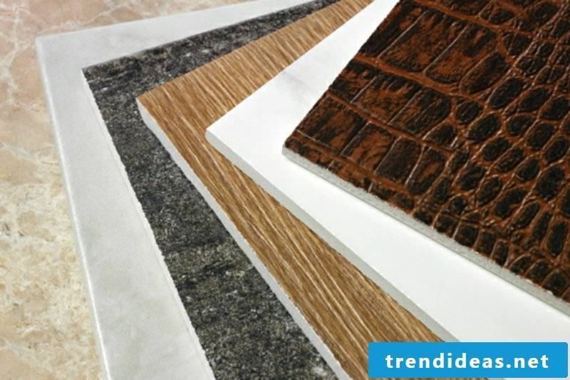 Tiles of varying thickness