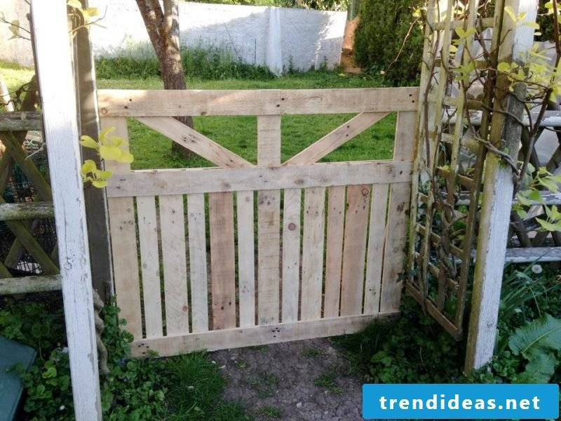 Garden gate build yourself DIY instructions