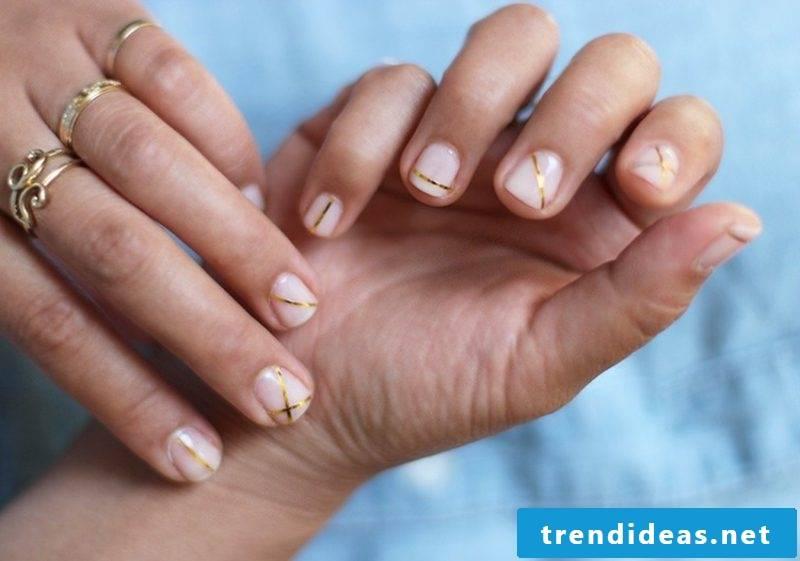 Fingernails design creative ideas
