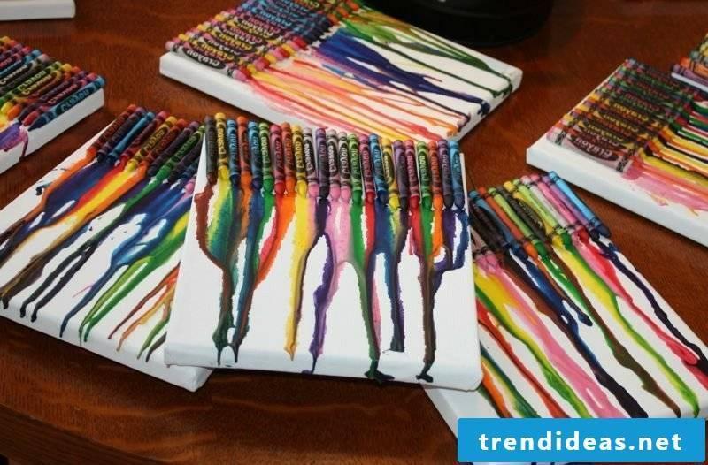 Canvas craft ideas