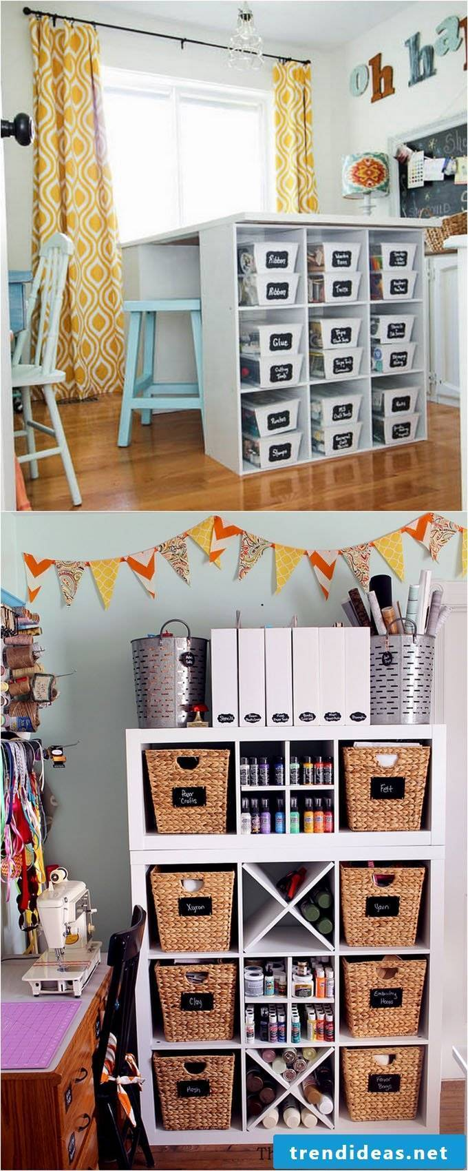 Craft room ideas make workbench yourself