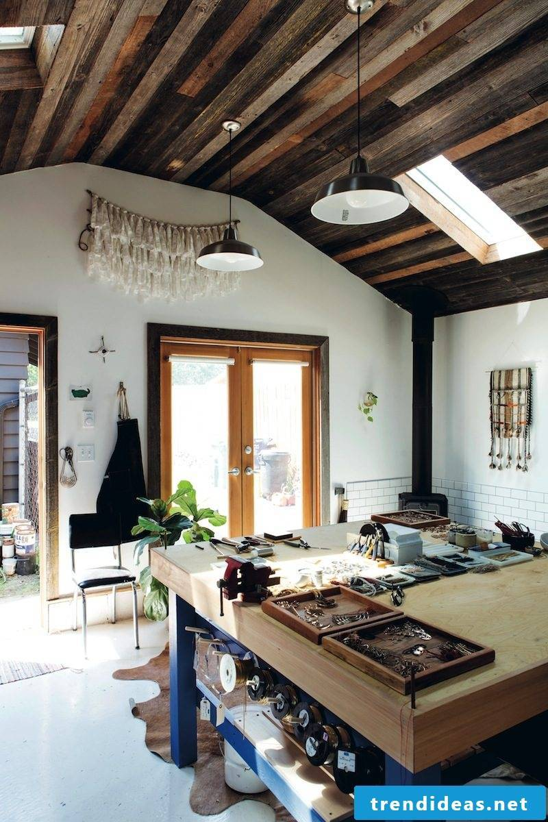 Own Garage Workshop - build a workbench yourself