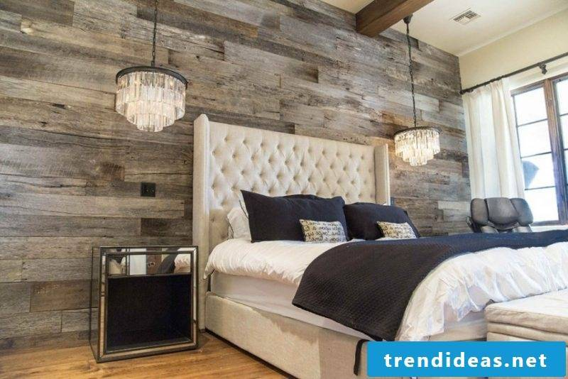 wood wall paneling failed
