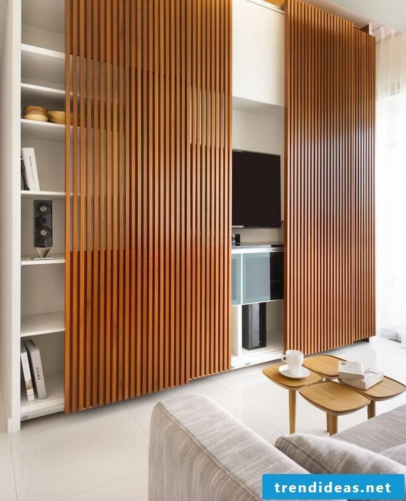 wooden wall paneling modern