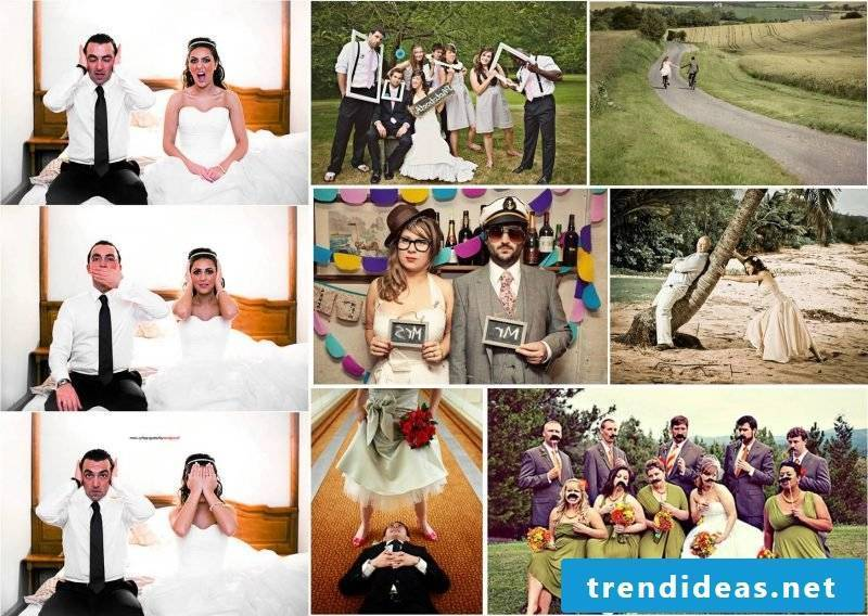 Wedding pictures Funny idea