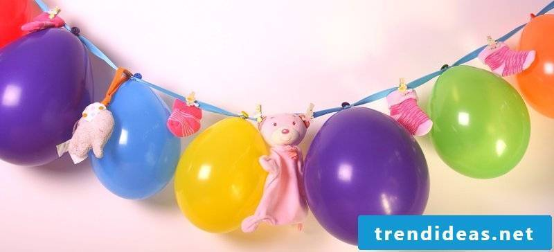 baby shower decoration garland balloons