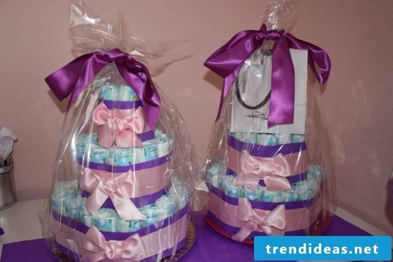 baby shower decoration pie