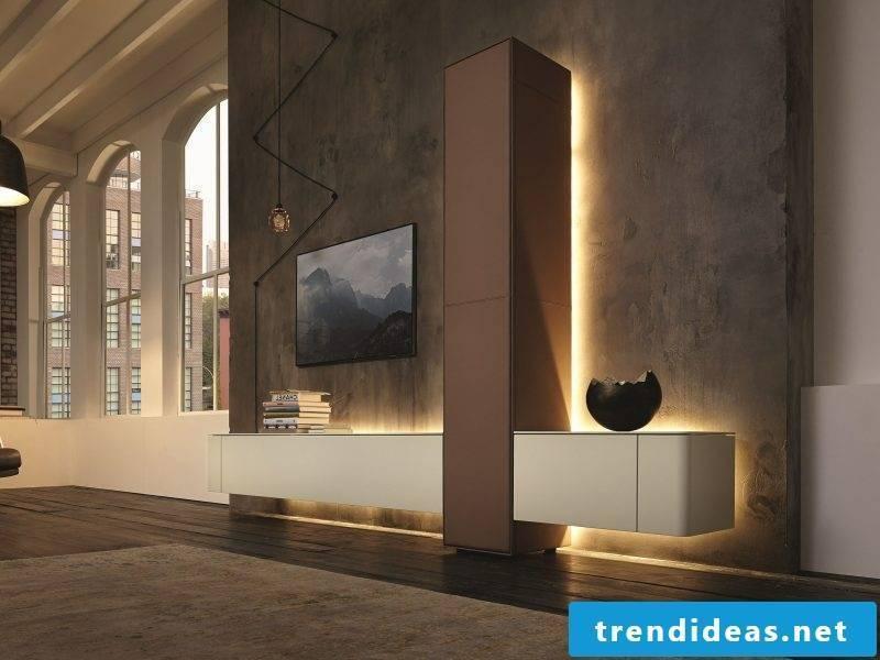 hülsta living wall innovatively