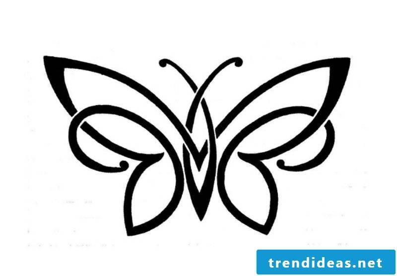 Tattoo templates for underarm butterfly
