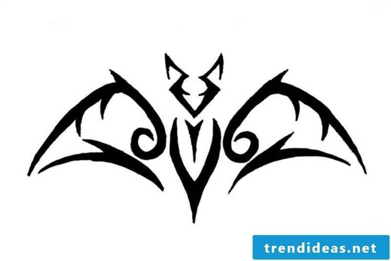 Bat Tattoovorlagen for forearm