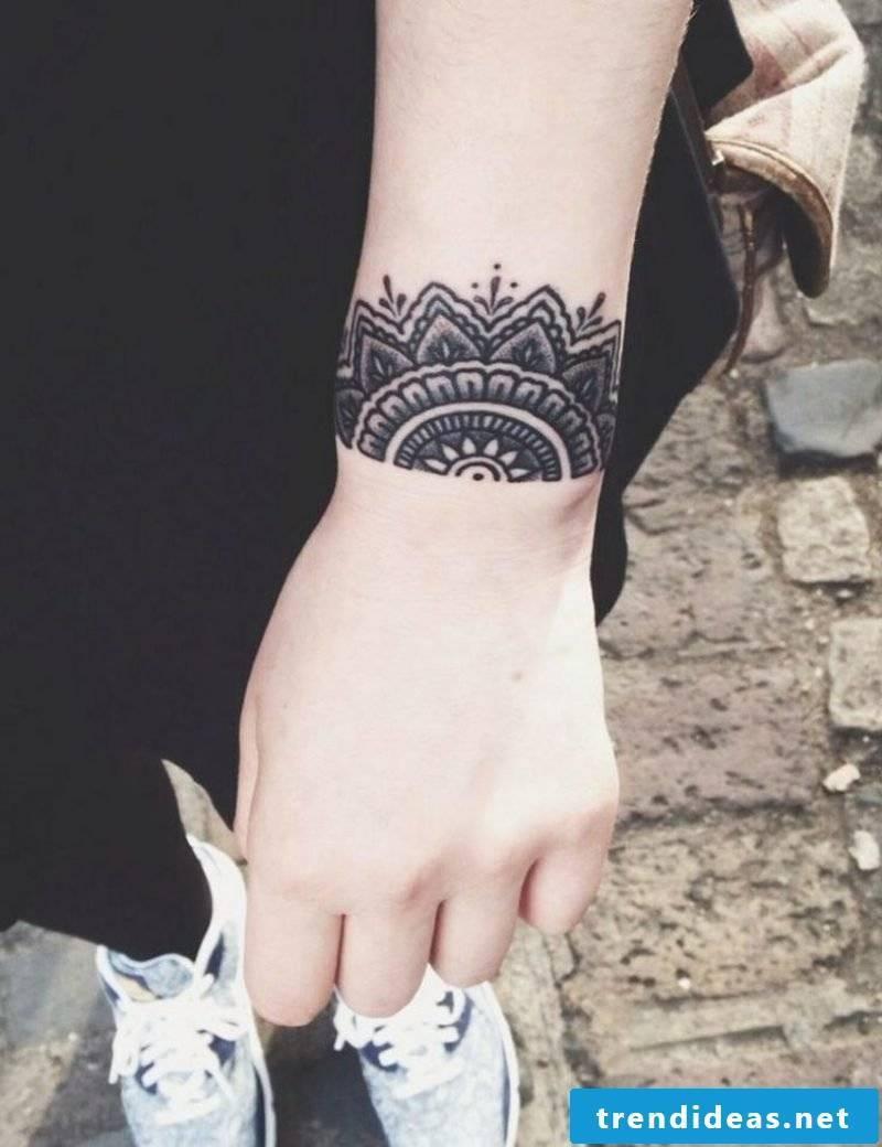 original tattoo wrist forearm