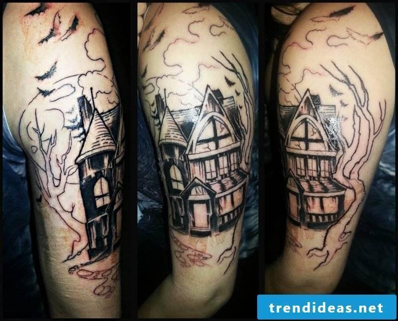 Tattoo template Halloween ideas
