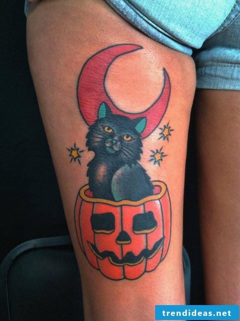 Tattoo Template Halloween Temporary Tattoos