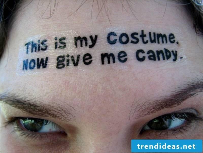 Tattoo Template Halloween Temporary Tattoos on Face