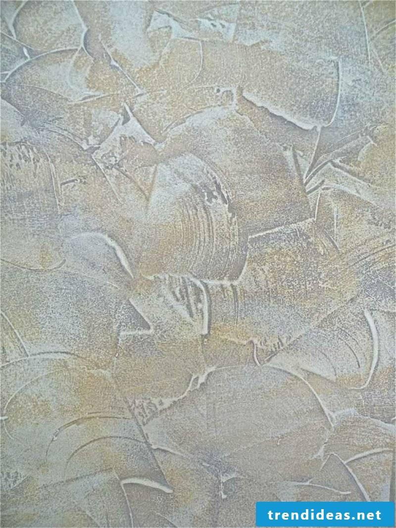 Decorative plaster wall design wonderful look